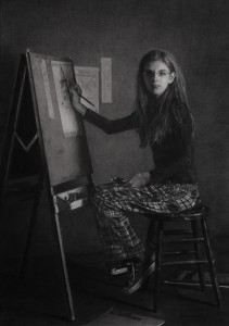 Portrait_of_the_Artist_as_a_Young_Girl_by_Leslie_Adams