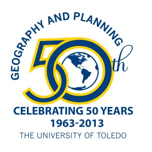 Geography 50th Logo Color