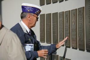 Veterans memorial dedication ceremony CD-756