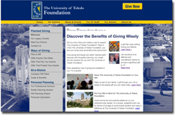 Planned giving website