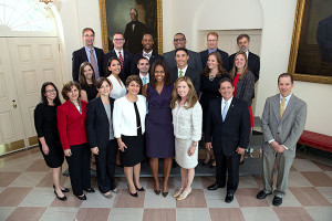 Sammies winners and First Lady photo