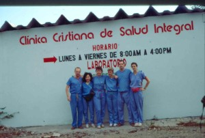 Huffman third year med school in Dominican Rep