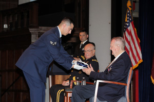 Dr. Richard Perry Ceremony for Soldiers Metal Award