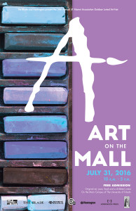 2016 Art on the Mall Poster