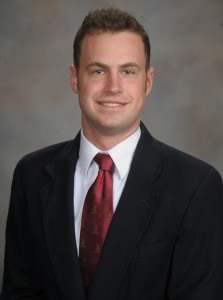Alumnus Jordan Gannon, (Bus '14)
